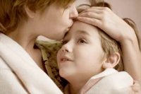 Family members - Child with Asperger Syndrome and Mother